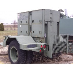 Generator, trailer mounted...